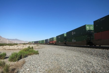 California freight train
