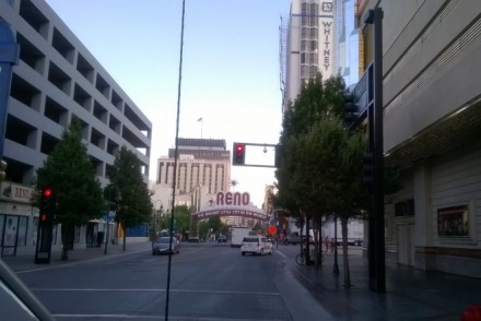 Reno the biggest little city sign