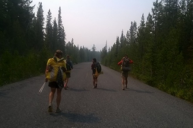 PCT Hikers in Washington