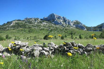 Velebit hiking trail